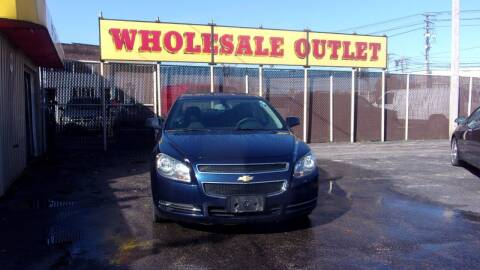 2012 Chevrolet Malibu for sale at LONG BROTHERS CAR COMPANY in Cleveland OH