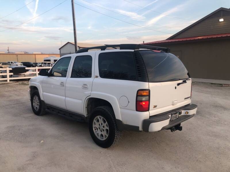 2004 Chevrolet Tahoe Z71 4WD 4dr SUV - Gainesville TX