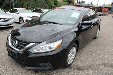 2016 Nissan Altima for sale at EZ PASS AUTO SALES LLC in Philadelphia PA
