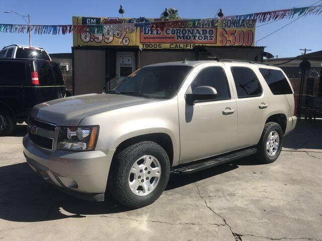 2007 Chevrolet Tahoe for sale at DEL CORONADO MOTORS in Phoenix AZ