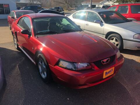 2003 Ford Mustang for sale at Blakes Auto Sales in Rice Lake WI