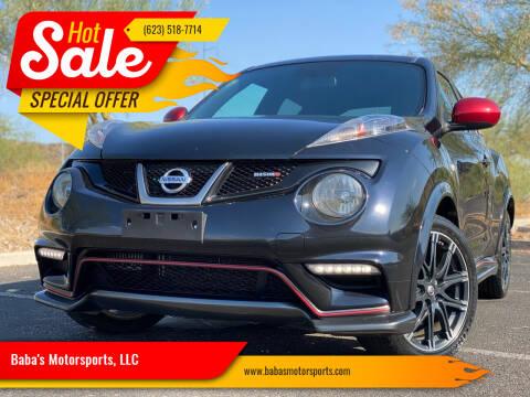 2013 Nissan JUKE for sale at Baba's Motorsports, LLC in Phoenix AZ