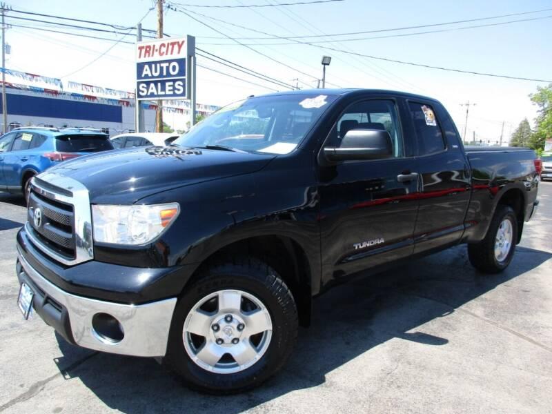 2012 Toyota Tundra for sale at TRI CITY AUTO SALES LLC in Menasha WI