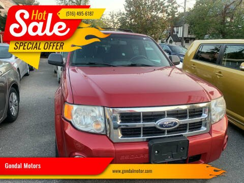 2012 Ford Escape for sale at Gondal Motors in West Hempstead NY
