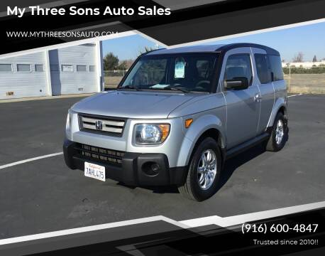 2008 Honda Element for sale at My Three Sons Auto Sales in Sacramento CA