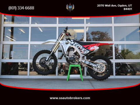 2020 Honda CRF450R for sale at S S Auto Brokers in Ogden UT