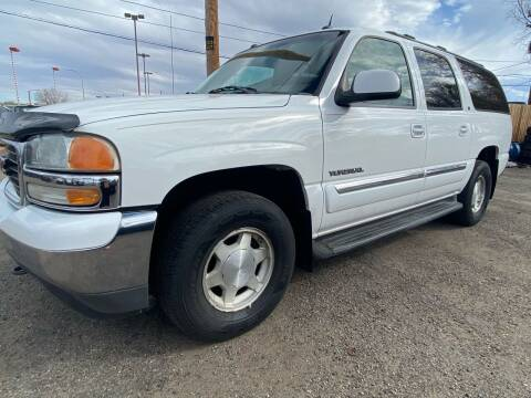 2005 GMC Yukon XL for sale at Martinez Cars, Inc. in Lakewood CO