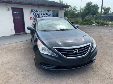 2012 Hyundai Sonata for sale at Excellent Autos of Orlando in Orlando FL