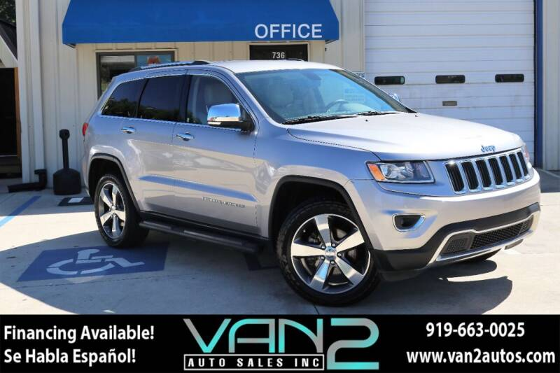 2015 Jeep Grand Cherokee for sale at Van 2 Auto Sales Inc in Siler City NC