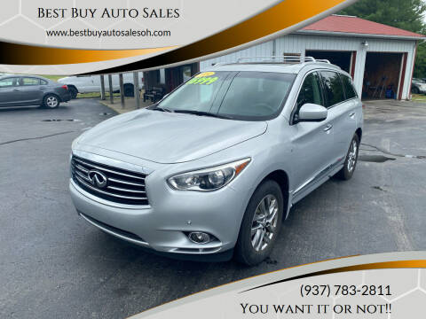 2014 Infiniti QX60 for sale at Best Buy Auto Sales in Midland OH