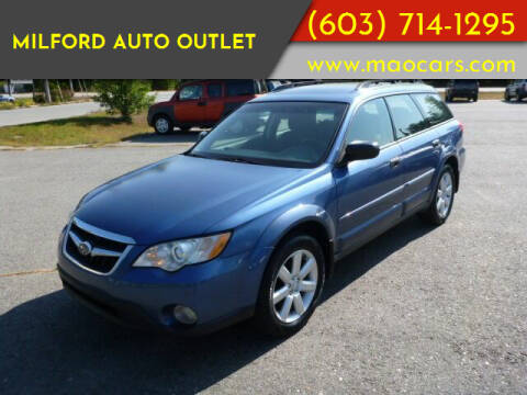 2008 Subaru Outback for sale at Milford Auto Outlet in Milford NH