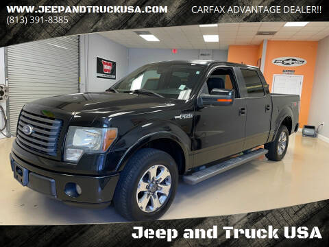 2010 Ford F-150 for sale at Jeep and Truck USA in Tampa FL