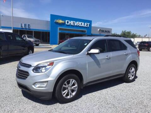 2017 Chevrolet Equinox for sale at LEE CHEVROLET PONTIAC BUICK in Washington NC