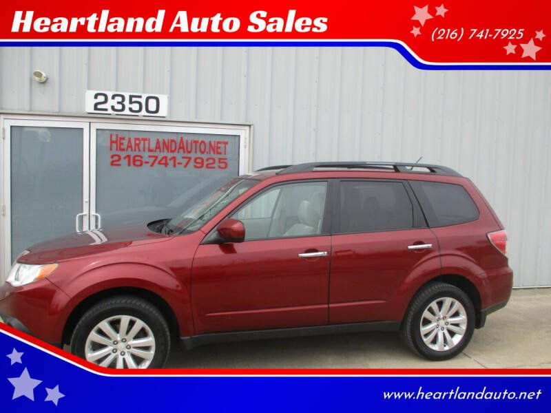 2011 Subaru Forester for sale at Heartland Auto Sales in Medina OH