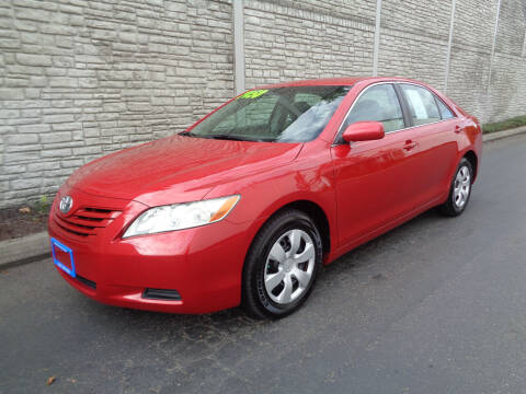 2007 Toyota Camry for sale at Matthews Motors LLC in Algona WA