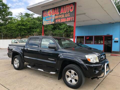 2007 Toyota Tacoma for sale at Global Auto Sales and Service in Nashville TN