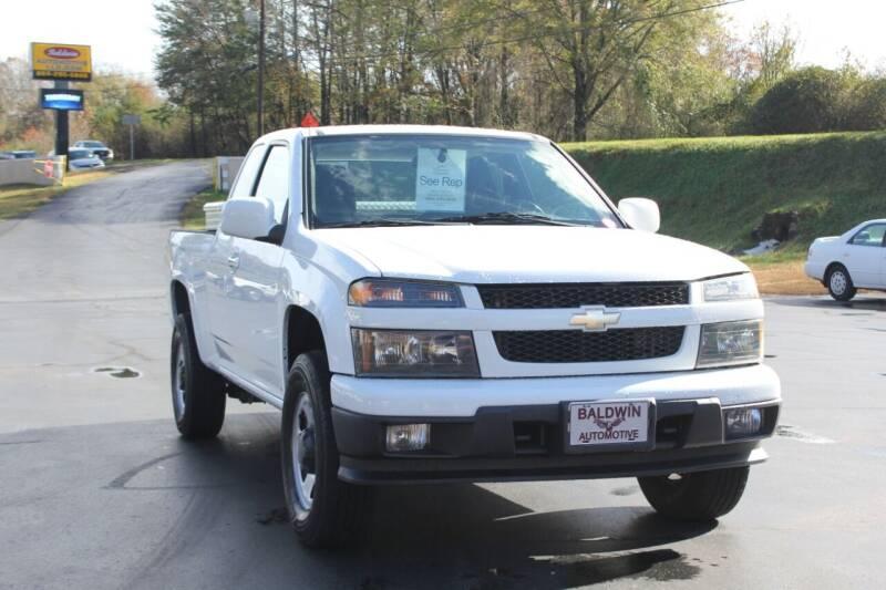 2012 Chevrolet Colorado for sale at Baldwin Automotive LLC in Greenville SC