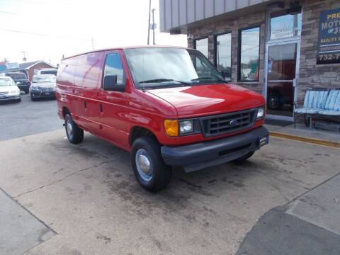 2003 Ford E-Series Cargo for sale at Preferred Motor Cars of New Jersey in Keyport NJ