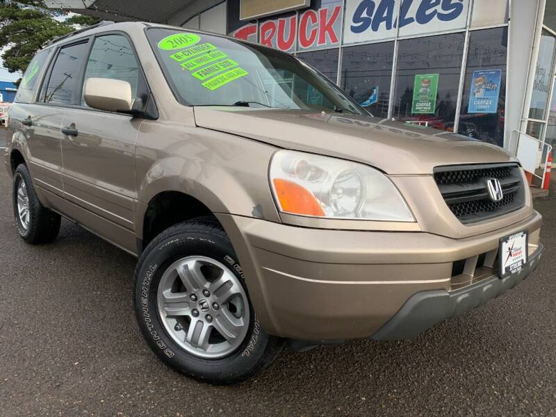 2005 Honda Pilot for sale at Xtreme Truck Sales in Woodburn OR
