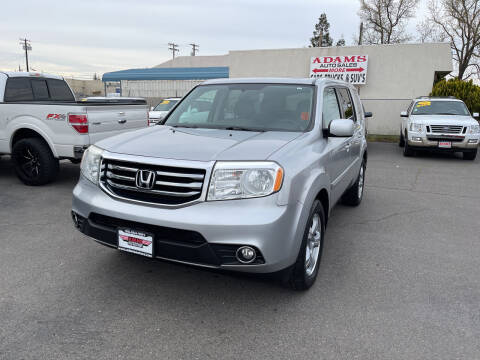 2015 Honda Pilot for sale at Adams Auto Sales in Sacramento CA
