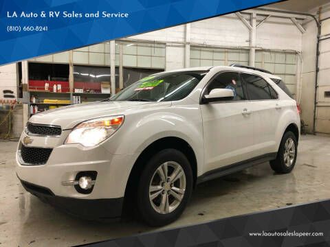 2012 Chevrolet Equinox for sale at LA Auto & RV Sales and Service in Lapeer MI