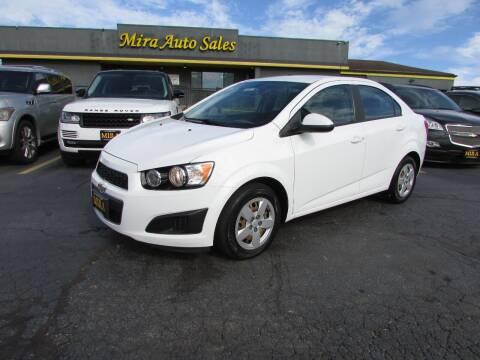 2016 Chevrolet Sonic for sale at MIRA AUTO SALES in Cincinnati OH