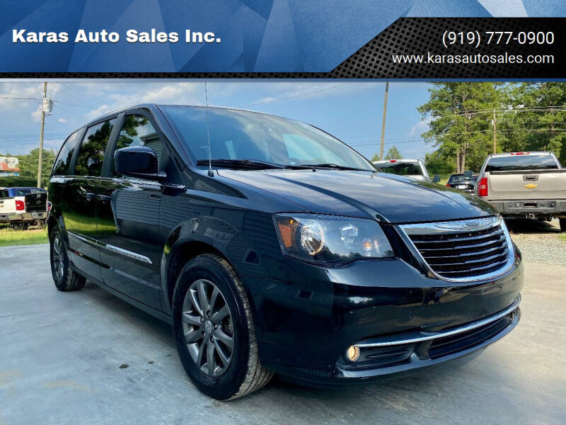 2014 Chrysler Town and Country for sale at Karas Auto Sales Inc. in Sanford NC