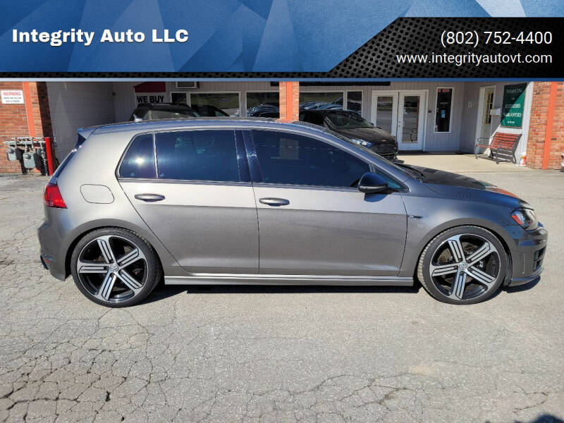 2016 Volkswagen Golf R for sale at Integrity Auto LLC - Integrity Auto 2.0 in St. Albans VT