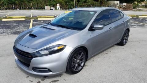 2016 Dodge Dart for sale at Guru Auto Sales in Miramar FL