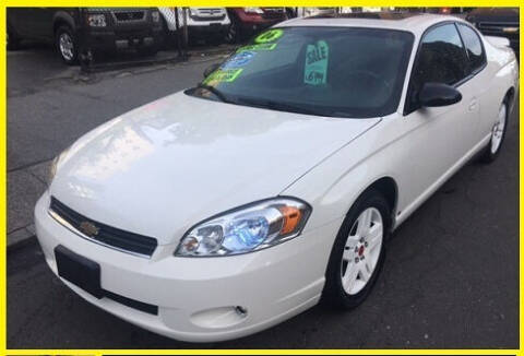 2006 Chevrolet Monte Carlo for sale at ARXONDAS MOTORS in Yonkers NY