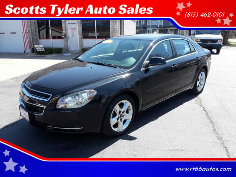 2010 Chevrolet Malibu for sale at Scotts Tyler Auto Sales in Wilmington IL