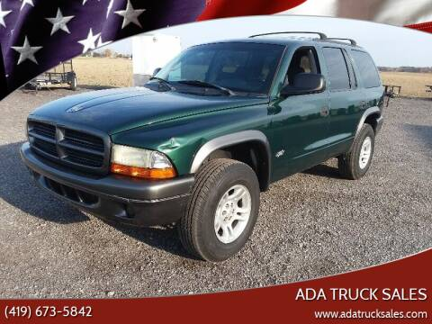 2002 Dodge Durango for sale at Ada Truck Sales in Ada OH