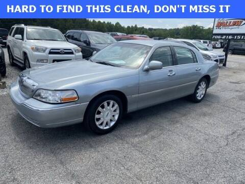 2006 Lincoln Town Car for sale at Billy Ballew Motorsports in Dawsonville GA