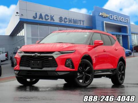 2020 Chevrolet Blazer for sale at Jack Schmitt Chevrolet Wood River in Wood River IL