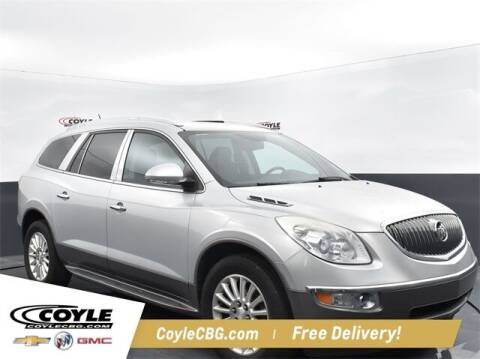 2012 Buick Enclave for sale at COYLE GM - COYLE NISSAN - New Inventory in Clarksville IN