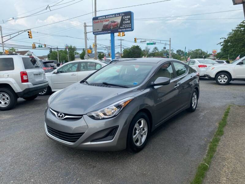 2014 Hyundai Elantra for sale at Union Avenue Auto Sales in Hazlet NJ