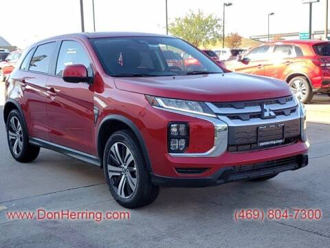 2021 Mitsubishi Outlander Sport for sale at DON HERRING MITSUBISHI in Irving TX