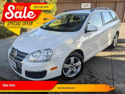 2009 Volkswagen Jetta for sale at Skye Auto in Fremont CA