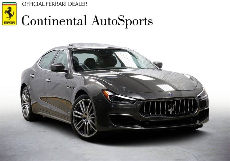 2019 Maserati Ghibli for sale at CONTINENTAL AUTO SPORTS in Hinsdale IL