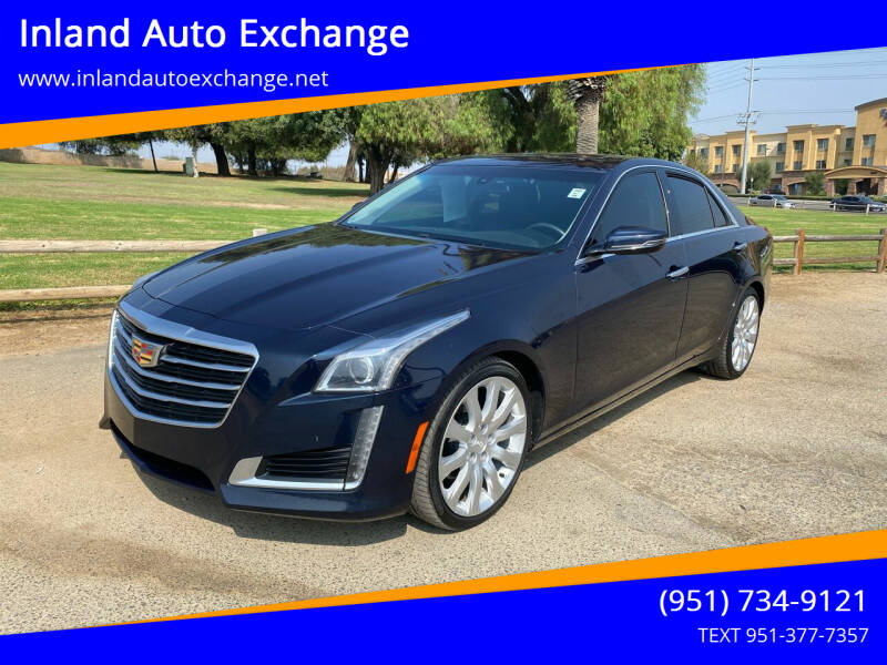 2016 Cadillac CTS for sale at Inland Auto Exchange in Norco CA