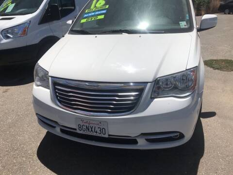 2016 Chrysler Town and Country for sale at Golden Gate Auto Sales in Stockton CA