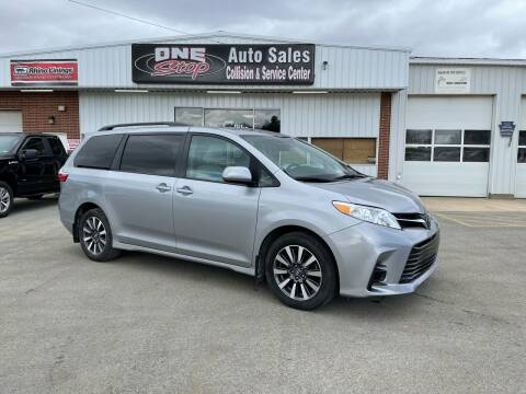 2018 Toyota Sienna for sale at One Stop Auto Sales, Collision & Service Center in Somerset PA