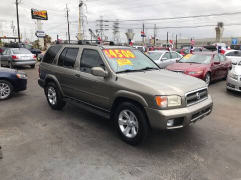 2003 Nissan Pathfinder for sale at Texas 1 Auto Finance in Kemah TX