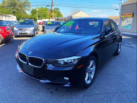2015 BMW 3 Series for sale at Dijie Auto Sale and Service Co. in Johnston RI