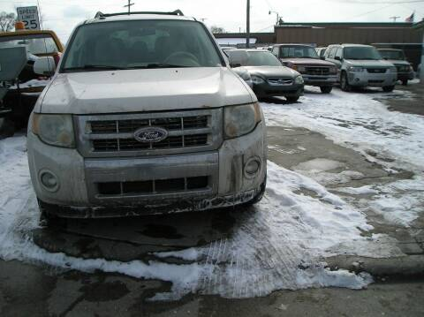 2010 Ford Escape for sale at ZJ's Custom Auto Inc. in Roseville MI