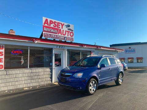 2008 Saturn Vue for sale at Apsey Auto in Marshfield WI