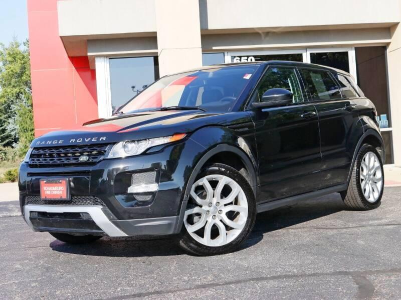 2015 Land Rover Range Rover Evoque for sale at Schaumburg Pre Driven in Schaumburg IL