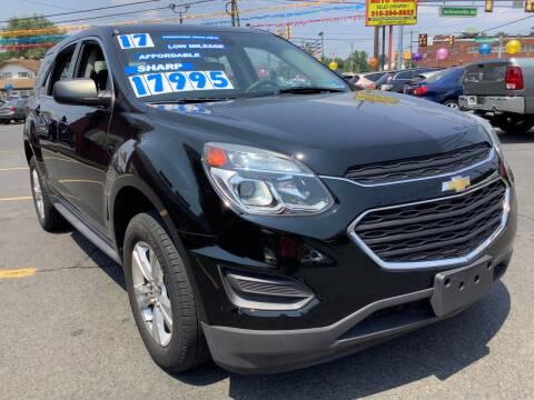 2017 Chevrolet Equinox for sale at Active Auto Sales in Hatboro PA
