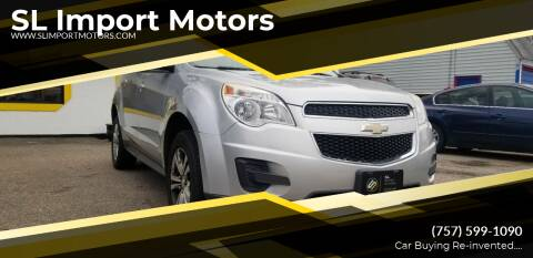 2013 Chevrolet Equinox for sale at SL Import Motors in Newport News VA