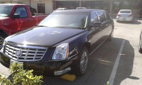 2011 Cadillac DTS Pro for sale at LAND & SEA BROKERS INC in Pompano Beach FL